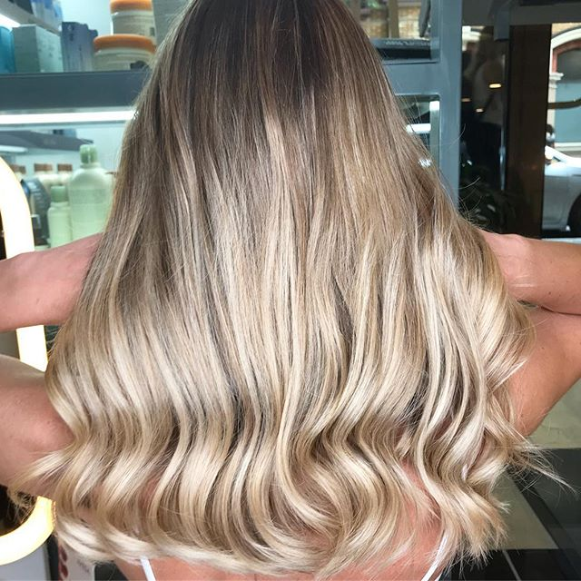balayage hair package