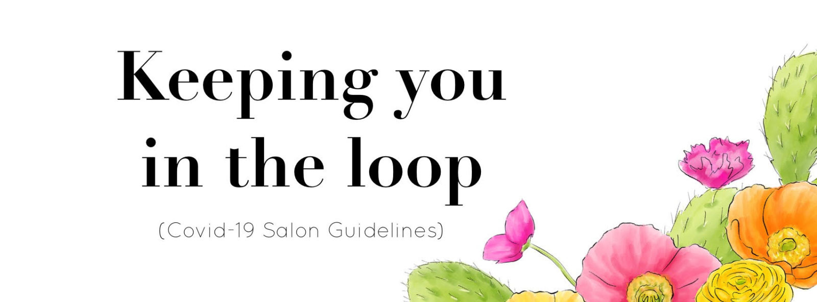 salon guidelines